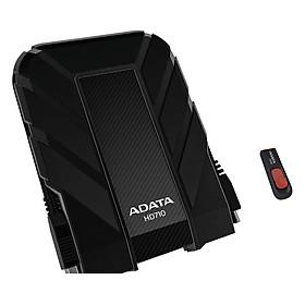 Bộ Ổ Cứng Di Động 1TB ADATA HD710 (Đen) + USB 16GB ADATA C008 (Đen Đỏ) - Hàng Chính Hãng