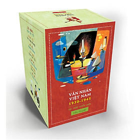 Combo Văn Nhân Việt Nam (Trọn Bộ 7 Cuốn)