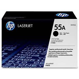 Mực In HP CE255A (HP 55A) Cho Máy In HP P3015d; HP P3015n; HP P3015dn; HP MFP M521dn; HP M525dn; HP MFP M525f; HP MFP M525c; HP P3015x - Hàng Chính Hãng
