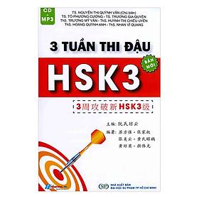 3 Tuần Thi Đậu HSK3 - Cấp Độ 3 (Kèm CD)