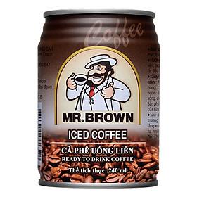 Cà Phê Sữa Mr.Brown Iced Lon 240ml