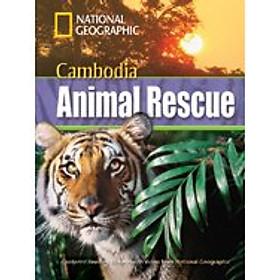 Cambodia Animal Rescue: Footprint Reading Library 1300