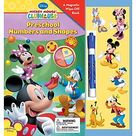 Mickey Mouse Clubhouse Preschool Numbers & Shapes Magnetic Book