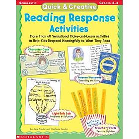 Quick & Creative Reading Response Activities (Grades 2-4)
