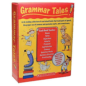 Grammar Tales Box Set: A Rib-Tickling Collection of Read-Aloud Books That Teach 10 Essential Rules of Usage and Mechanics