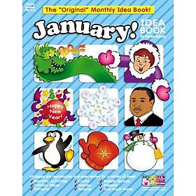 January Idea Book: A Creative Idea Book for the Elementary Teacher