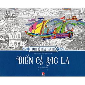 Tranh Tô Màu Tập Thể: Biển Cả Bao La