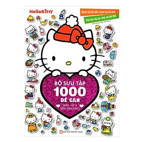 Hello Kitty - Bộ Sưu Tập 1000 Đề Can - Bốn Mùa Yêu Thương