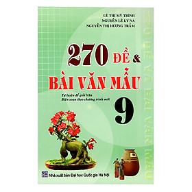 270 Đề Và Bài Văn Mẫu 9