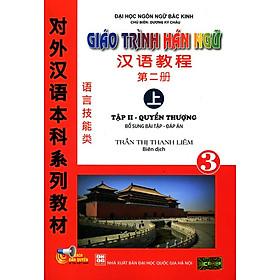 Giáo Trình Hán Ngữ Tập II - Quyển Thượng (Kèm CD)