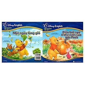 Disney English - Cấp Độ 1: Điều Bất Ngờ Ở Khu Vườn Của Gấu Pooh - Một Ngày Lộng Gió (Không CD)