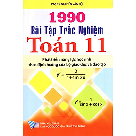 1990 Bài Tập Trắc Nghiệm Toán Lớp 11