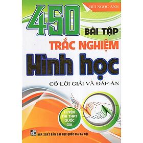 450 Bài Tập Trắc Nghiệm Hình Học (Luyện Thi THPT Quốc Gia)