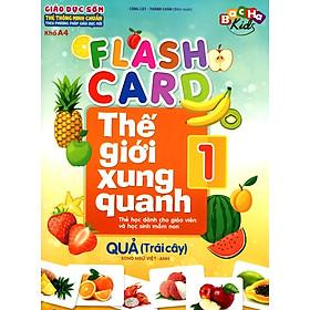 Flashcard Thế Giới Xung Quanh 1 - Quả (Trái Cây)