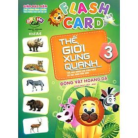 Flashcard Thế Giới Xung Quanh 3 - Động Vật Hoang Dã