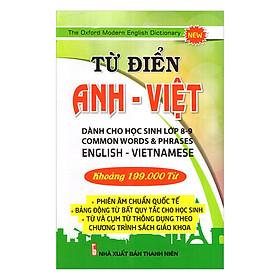 Từ Điển Anh - Việt Khoảng 199.000 Từ