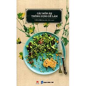 Các Món Ăn Thông Dụng Dễ Làm (2016)