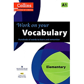 Collins Work On Your Vocabulary - Elementary A1