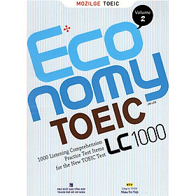 Economy TOEIC LC1000 Volume 2 (Kèm CD)