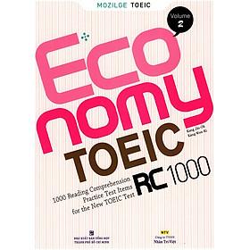 Economy TOEIC RC1000 Volume 2