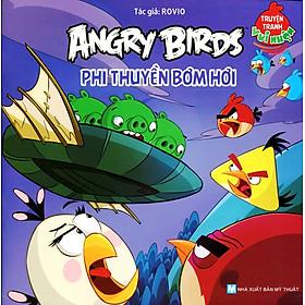 Truyện Tranh Vui Nhộn Angry Birds - Phi Thuyền Bơm Hơi