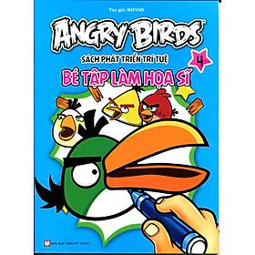 Angry Birds - Sách Phát Triển Trí Tuệ Bé Tập Làm Họa Sĩ 4