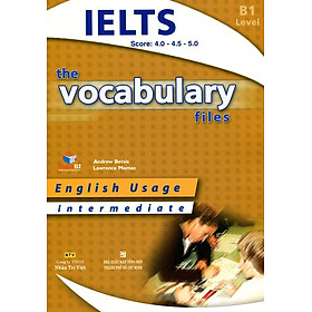 The Vocabulary Files B1 Intermediate (Không CD)