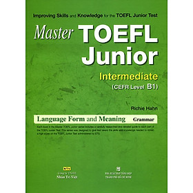 Master TOEFL Junior Cefr Intermedicate Level B1 (Không CD)