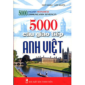 Hình đại diện sản phẩm 5000 Câu Giao Tiếp Anh - Việt (Kèm CD)