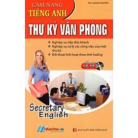 Cẩm Nang Tiếng Anh Thư Ký Văn Phòng (Sách Bỏ Túi) - Kèm CD