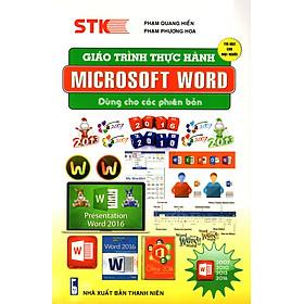 Giáo Trình Thực Hành Microsoft Word Dùng Cho Các Phiên Bản