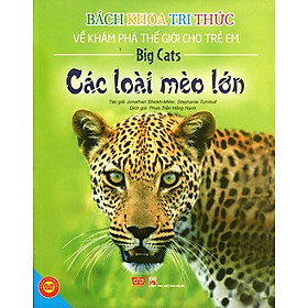 Bách Khoa Tri Thức Về Khám Phá Thế Giới Cho Trẻ Em - Các Loài Mèo Lớn (Tái Bản)