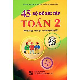 45 Bộ Đề Bài Tập Toán Lớp 2