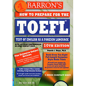 Barron's How To Prepare For The Toefl - Test Of English As A Foreign Language (10th Edition) (No CD)