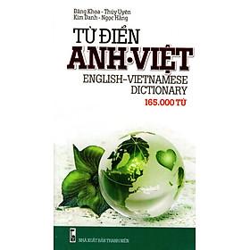 Từ Điển Anh - Việt (165.000 Từ) - Sách Bỏ Túi