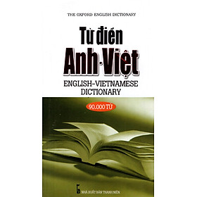Từ Điển Anh - Việt (90.000 Từ) - Sách Bỏ Túi
