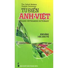 Từ Điển Anh - Việt (Khoảng 165.000 Từ) - Sách Bỏ Túi