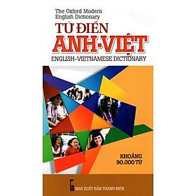 Từ Điển Anh - Việt (Khoảng 90.000 Từ - 2015) - Sách Bỏ Túi