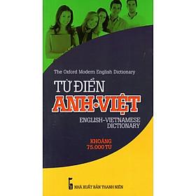 [Download sách] Từ Điển Anh - Việt (Khoảng 75.000 Từ) - Sách Bỏ Túi