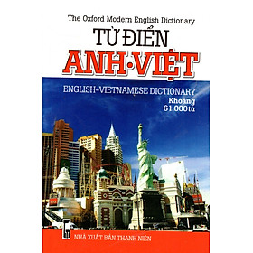 Từ Điển Anh - Việt (Khoảng 61.000 Từ) - Sách Bỏ Túi