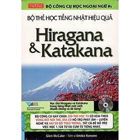 Bộ Thẻ Học Tiếng Nhật Hiệu Quả - Hiragana và Katakana (Kèm CD)