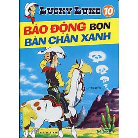 Lucky Luke 10 - Báo Động Bọn Bàn Chân Xanh