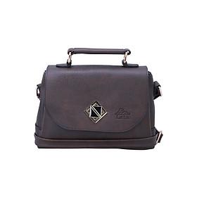 Hình đại diện sản phẩm Túi Đeo Chéo Nữ Đa Năng Lata HN30 - Nâu