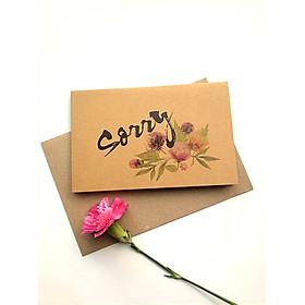 Thiệp Papermix Sorry - S11 (Nâu)