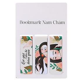 Bộ Bookmark Nam Châm Cô Gái Đến Từ Hôm Qua (3 Cái)