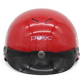 Mũ Bảo Hiểm Protec Kitty M 2 Màu Không Kính (Hoa Văn Ngẫu Nhiên)