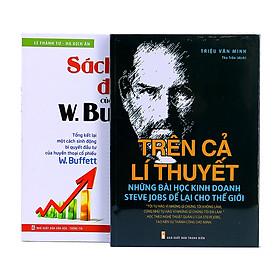 Combo Những Bài Học Kinh Doanh Mà Jobs Để Lại Cho Thế Giới + Sách Lược Đầu Tư Của W.Buffett (Trọn Bộ 2 Cuốn)