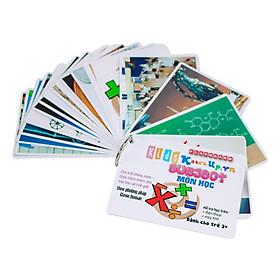 KatchUp Flashcard Tiếng Anh Cho Bé - Môn Học - High Quality