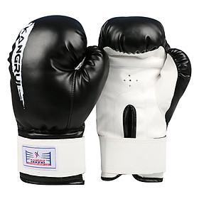 Găng Tay Boxing KB313 - Đen