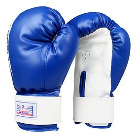 Găng Tay Boxing KB313 - Xanh Dương
